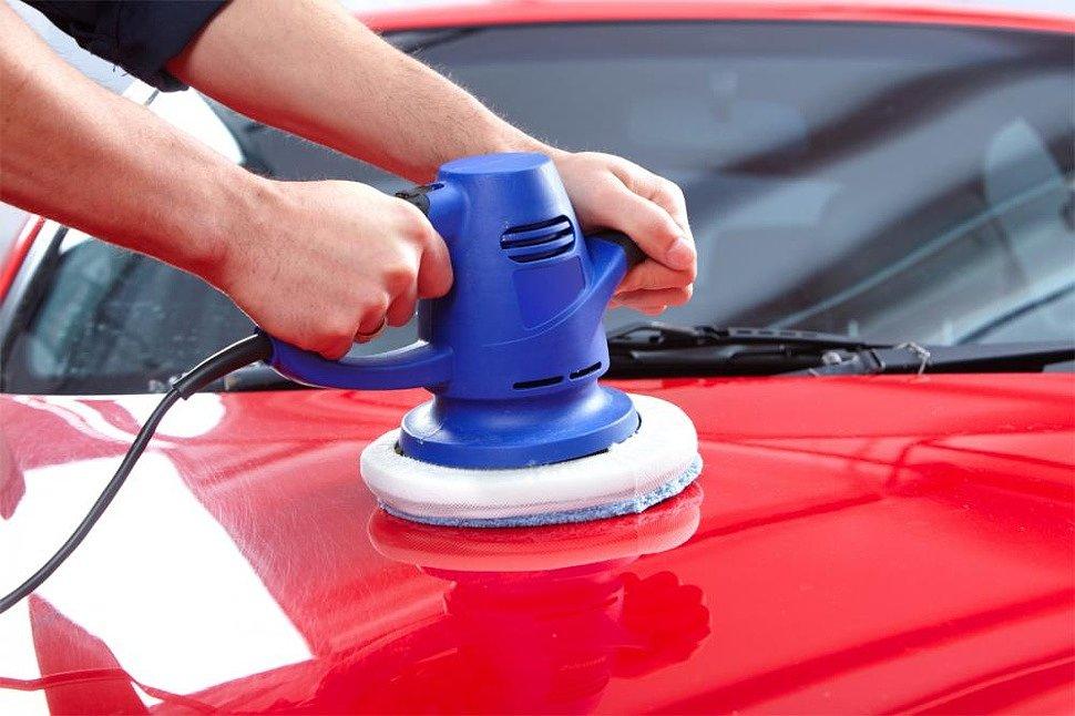Абразивная полировка кузова автомобиля своими руками