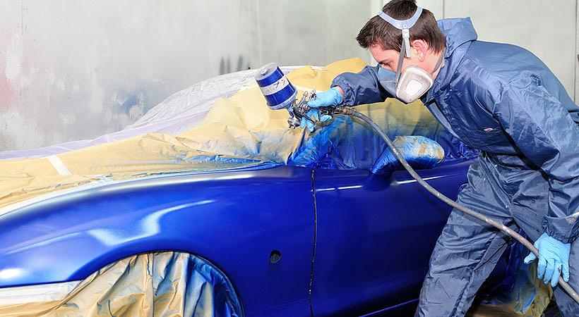 Особенности работы с автомобильной краской металлик