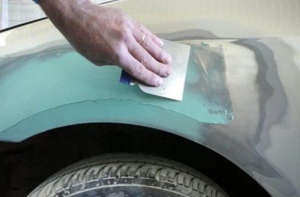Разновидности автомобильной шпатлевки и секреты ее нанесения