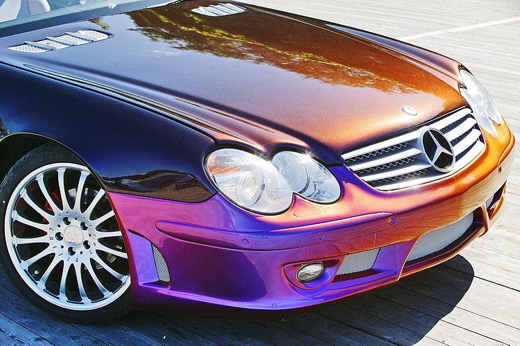 Эксклюзивная покраска авто в цвет «хамелеон»