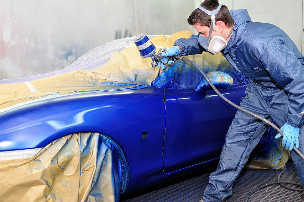 грунт, лак, краска все для покраски автомобиля в магазине Маркетэм