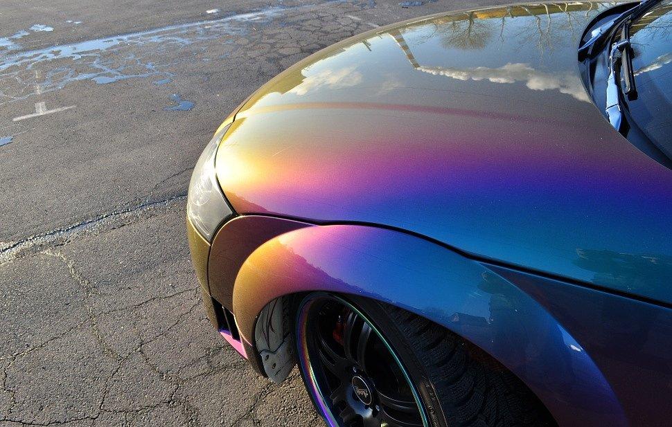 Нестандартные эффекты при покраске автомобиля