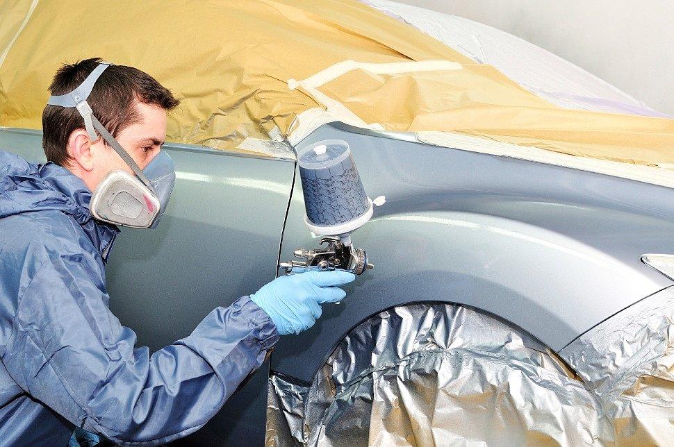 Тонкости нанесения краски-спрея на кузов авто
