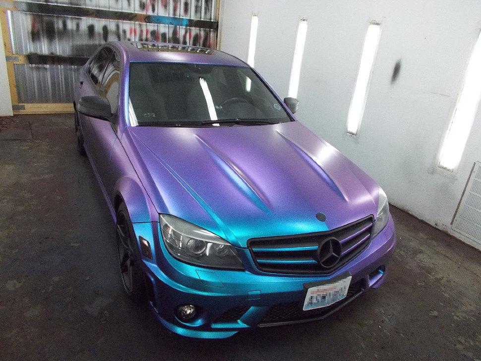 Mercedes AMG в краске ксералик