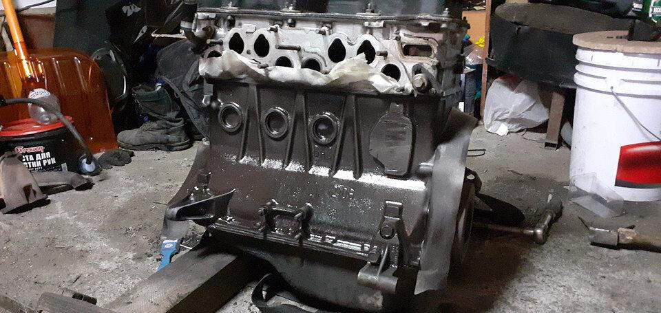 Покрас двигателя