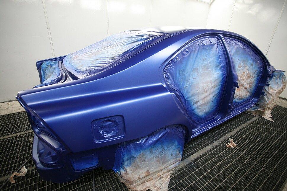 Что такое современная покраска авто?