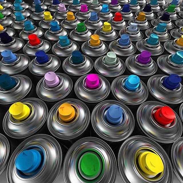 Подобрать автоэмали и аэрозольную краску в магазине автотоваров